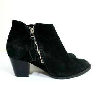Vionic Sterling Nubuck Leather Ankle Boot Bootie